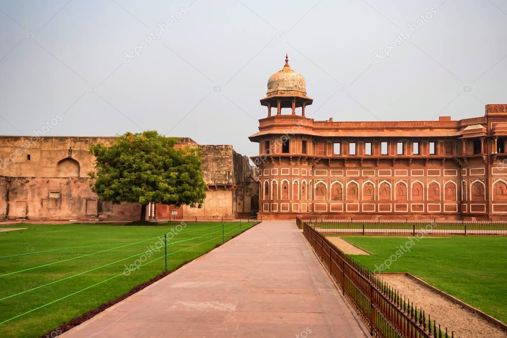 Jahangir Palace in Fort of Agra