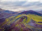 schöne bunte vulkanische Berge landmannalaugar in Island