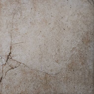 A marble wall fragment with a crack