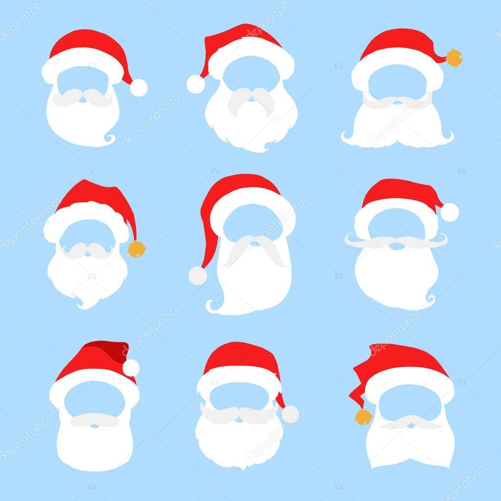 050539186a279 stock illustration. Santa hat