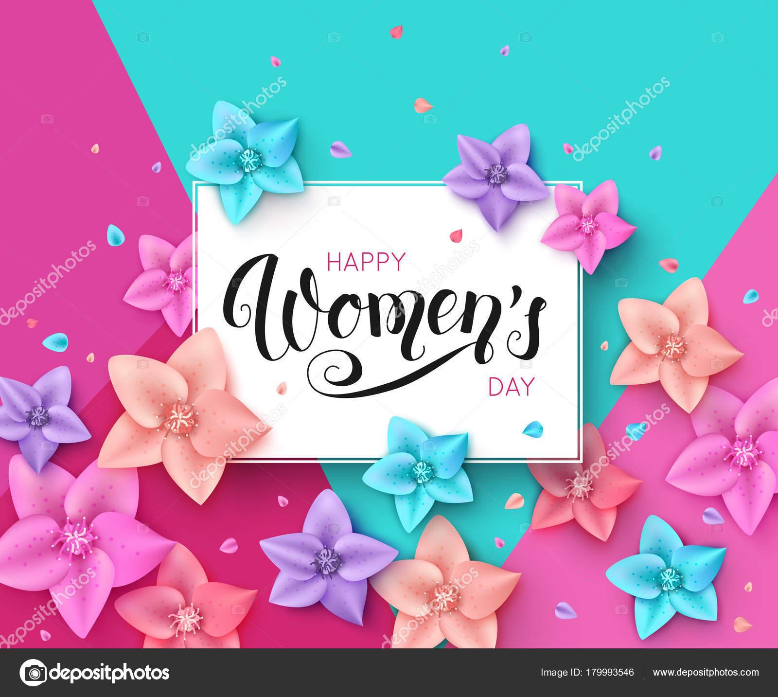 International womens day greeting card vector illustration stock international womens day greeting card vector illustration stock vector m4hsunfo