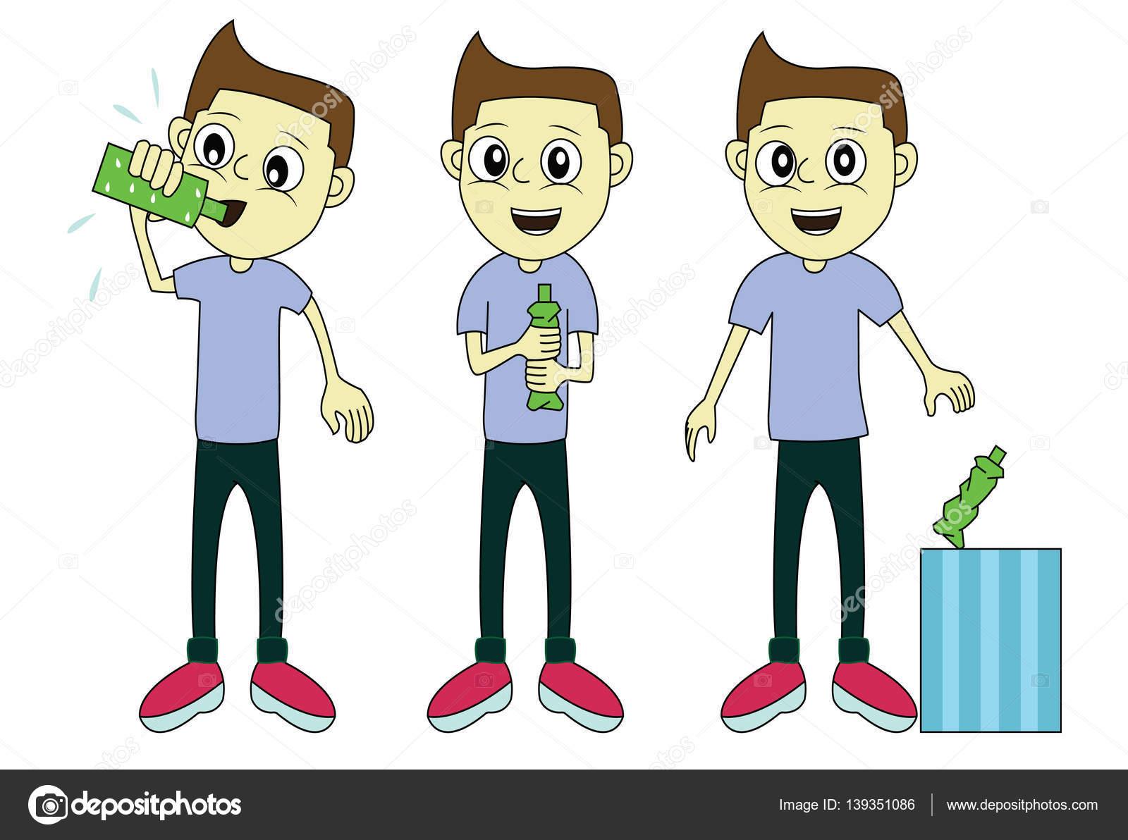 Dibujos Del Cuidado Del Medio Ambiente Boy Hacer Dibujos Animados