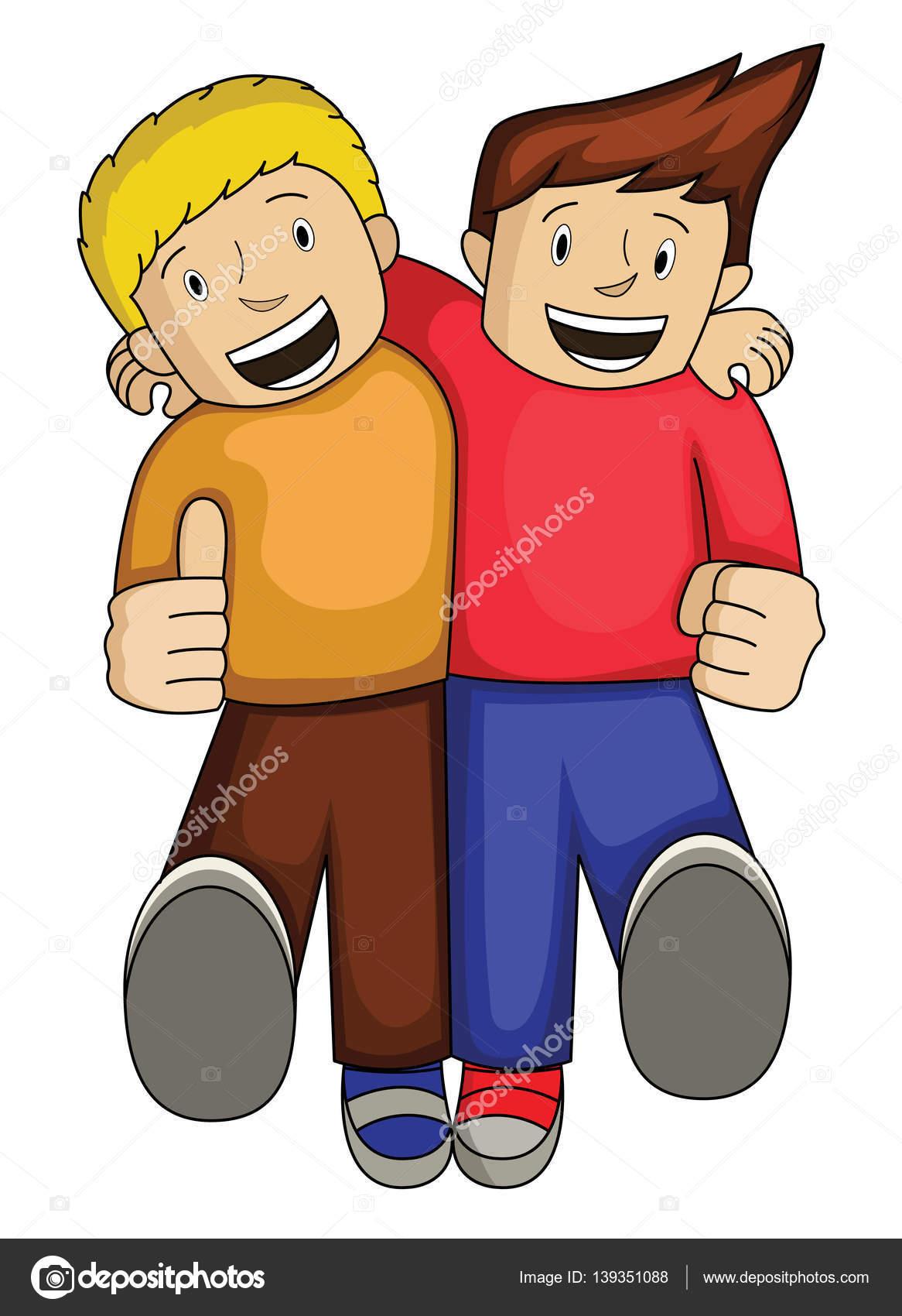 mejor amigo cartoon archivo im u00e1genes vectoriales best friends clip art images best friends clip art images
