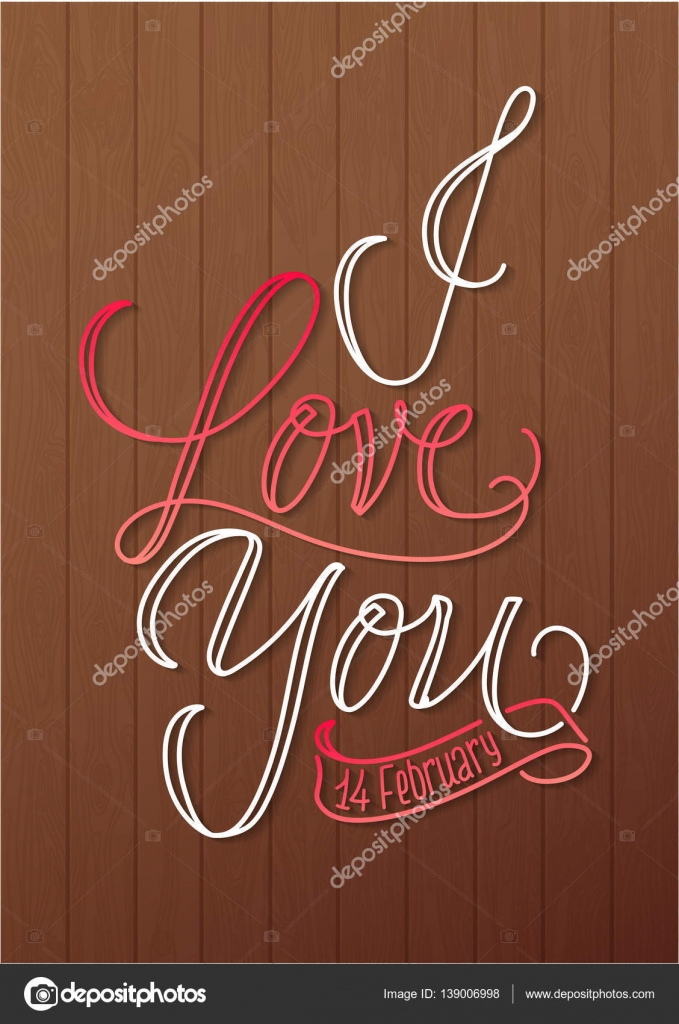 I love you greeting card stock vector laracold2013 139006998 i love you greeting card stock vector m4hsunfo