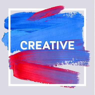 Creative painting poster