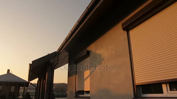 Rolling Shutter Window