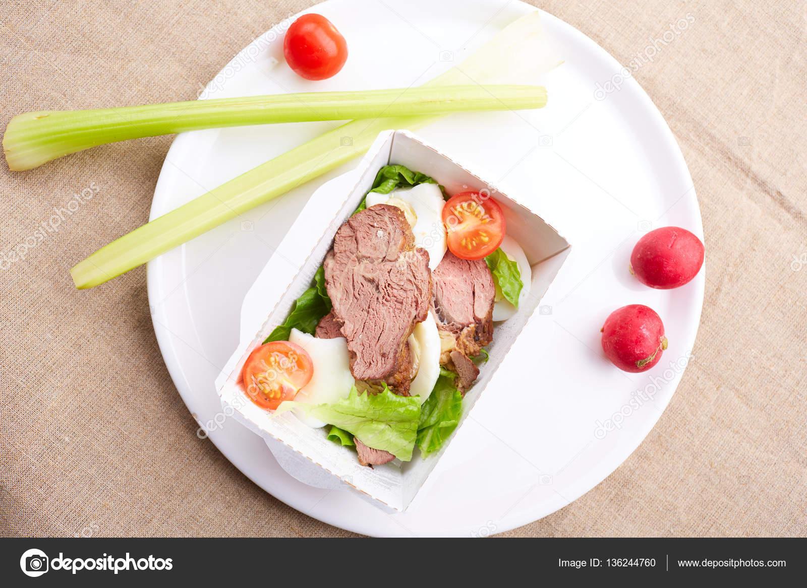 Con carne comidas rapidas sanas y