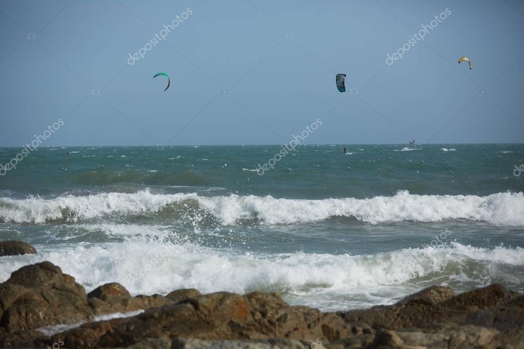 Sea beach in Vietnam