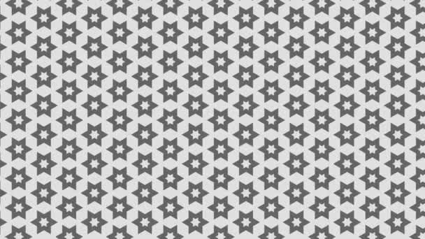 Grafikus motívum fekete-fehér, hogy mozog a háttérben növeli a méretet, álló rajzok és színes formák.