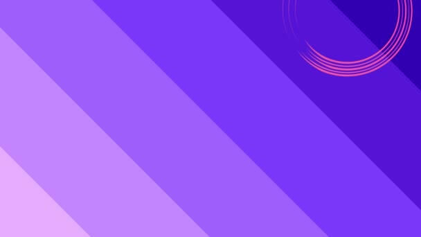 Grafikdesign, das sich auf der rechten Seite von oben nach unten dreht und die Farbe wechselt, bestehend aus bunten Formen und Texturen, im 16: 9-Videoformat.
