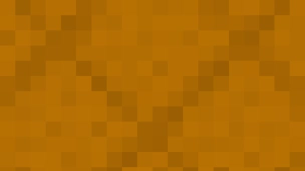 Abstraktní animace v černobílé barvě na minimálním pozadí, s barevným mozaikovým efektem, který se liší velikostí, úhlem a intenzitou, v 16: 9 video formátu