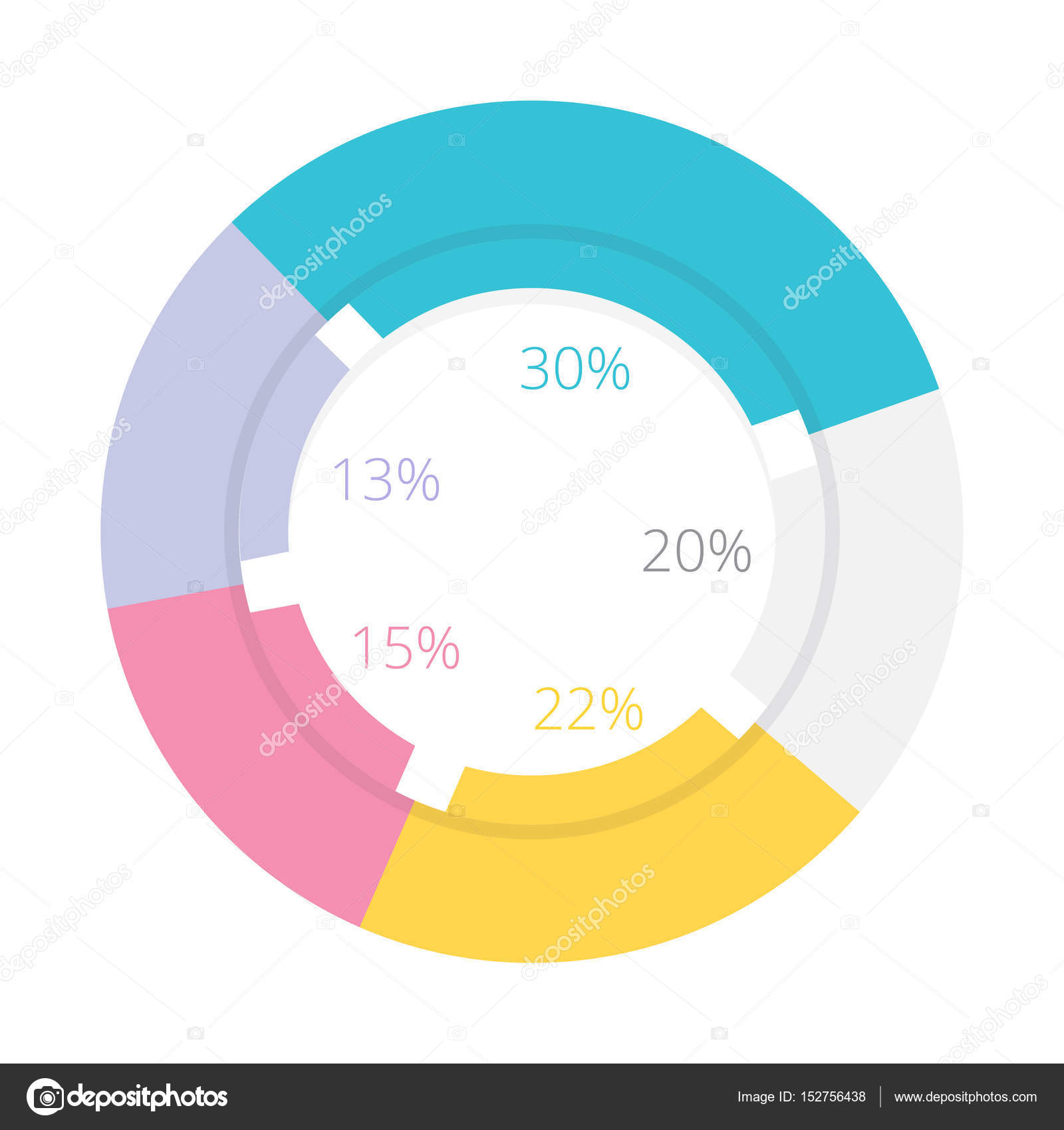 Diagram chart pie doughnut stock vector graphiqa 152756438 diagram chart pie doughnut stock vector nvjuhfo Images
