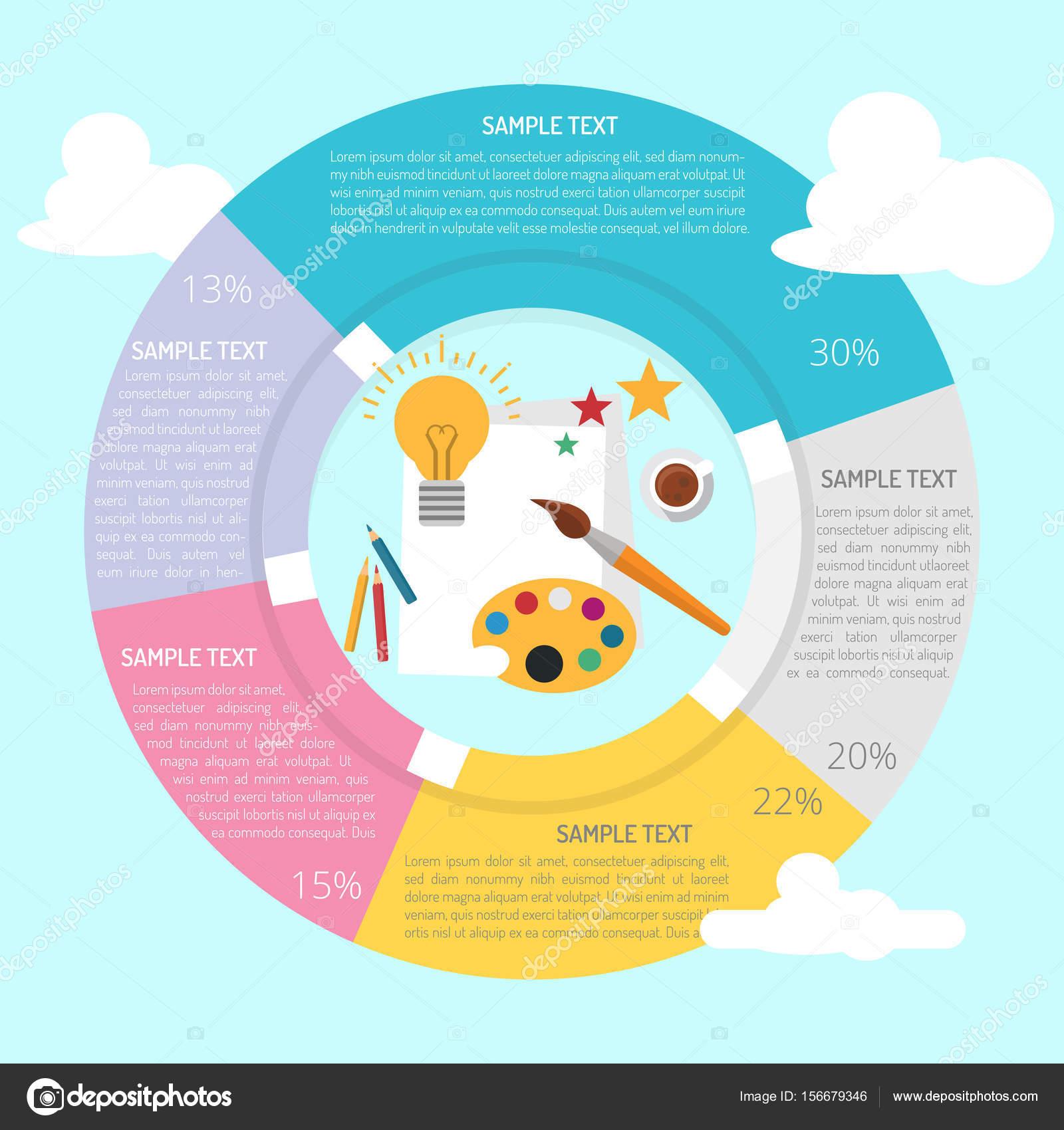Bekend Creatieve ideeën Infographic — Stockvector © Graphiqa #156679346 @EF58