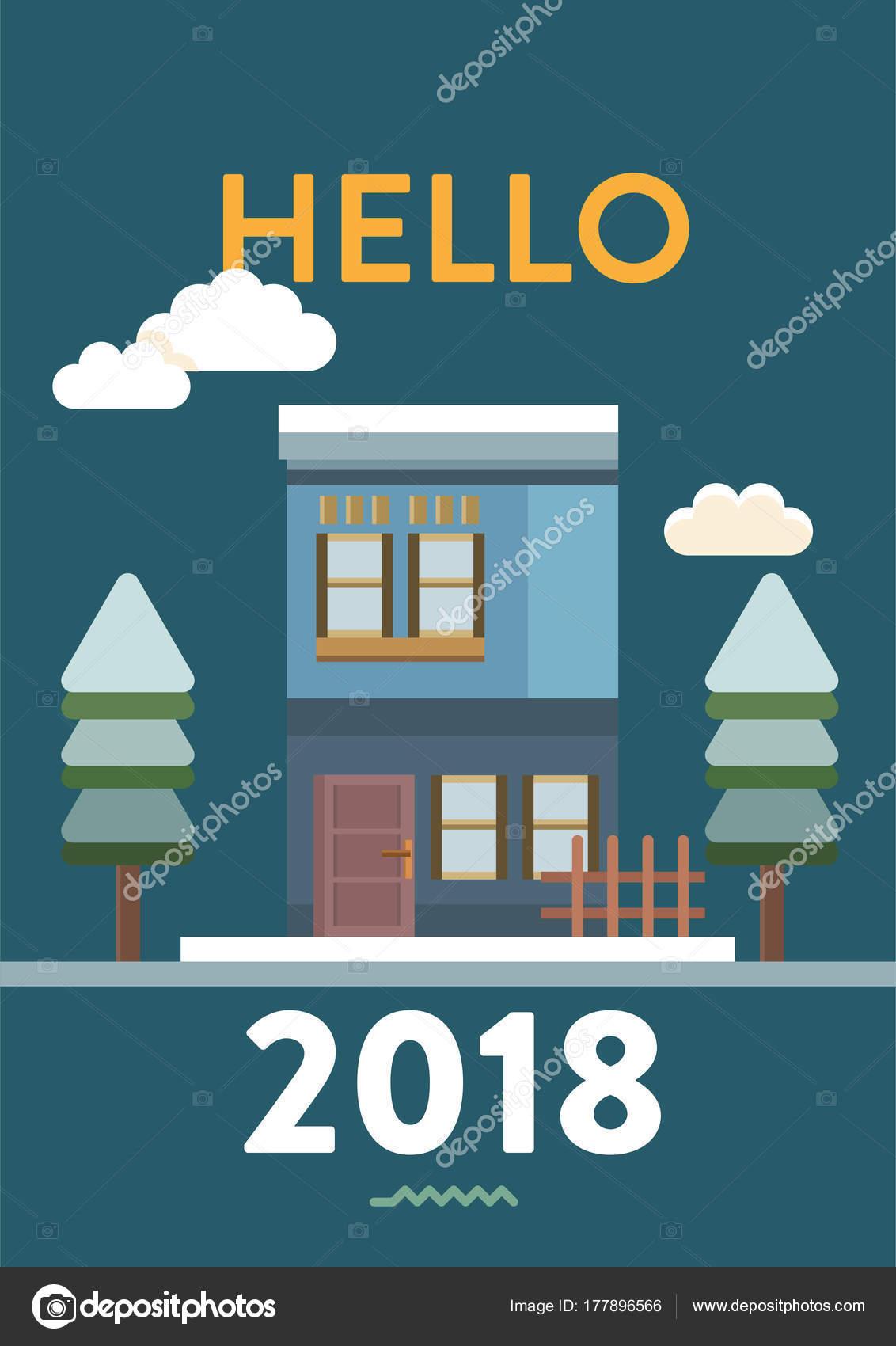 Diseño Cartel Feliz Año Nuevo — Vector de stock © Graphiqa #177896566