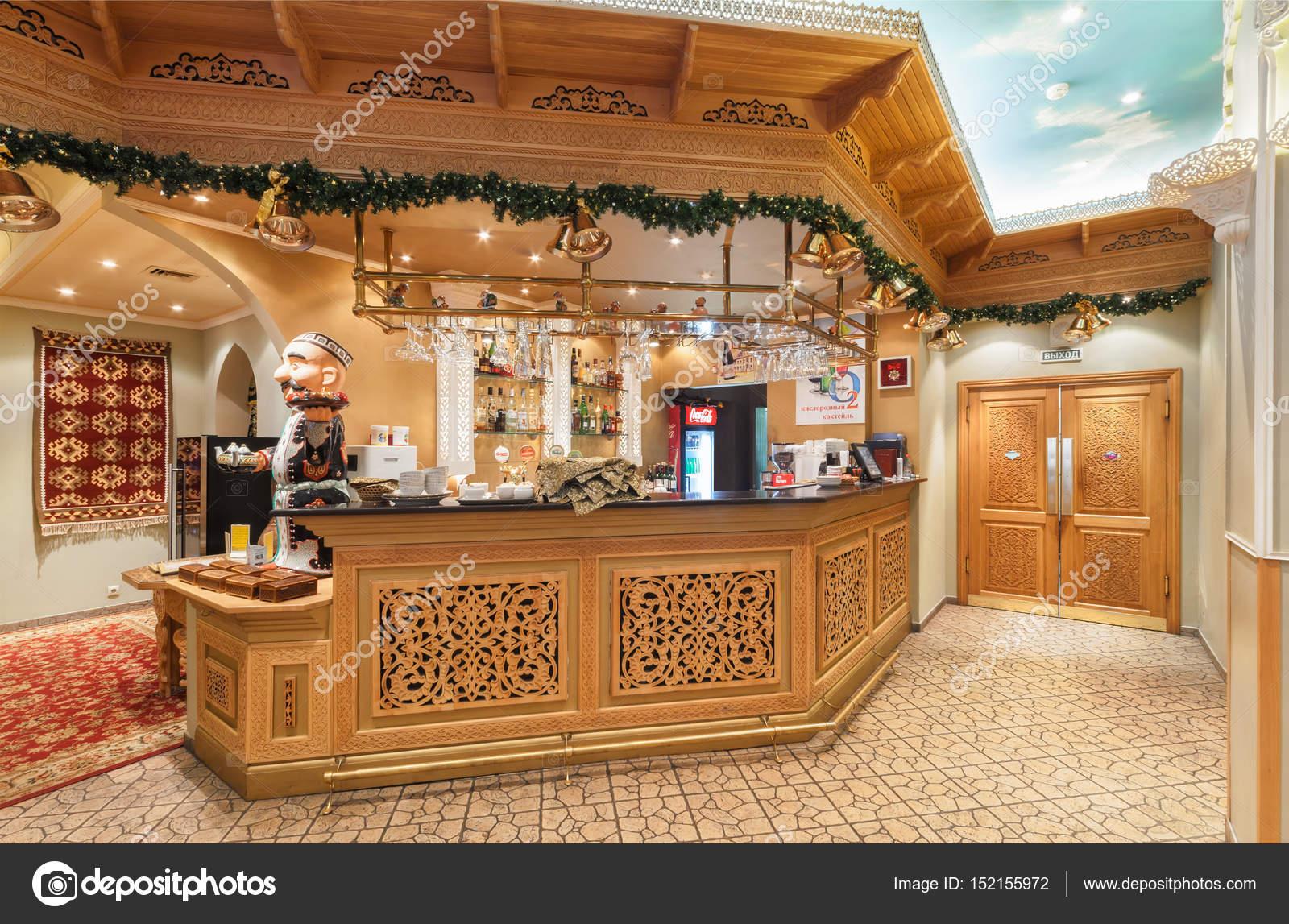 Moscú/Rusia - diciembre de 2014. El interior de la cocina del ...