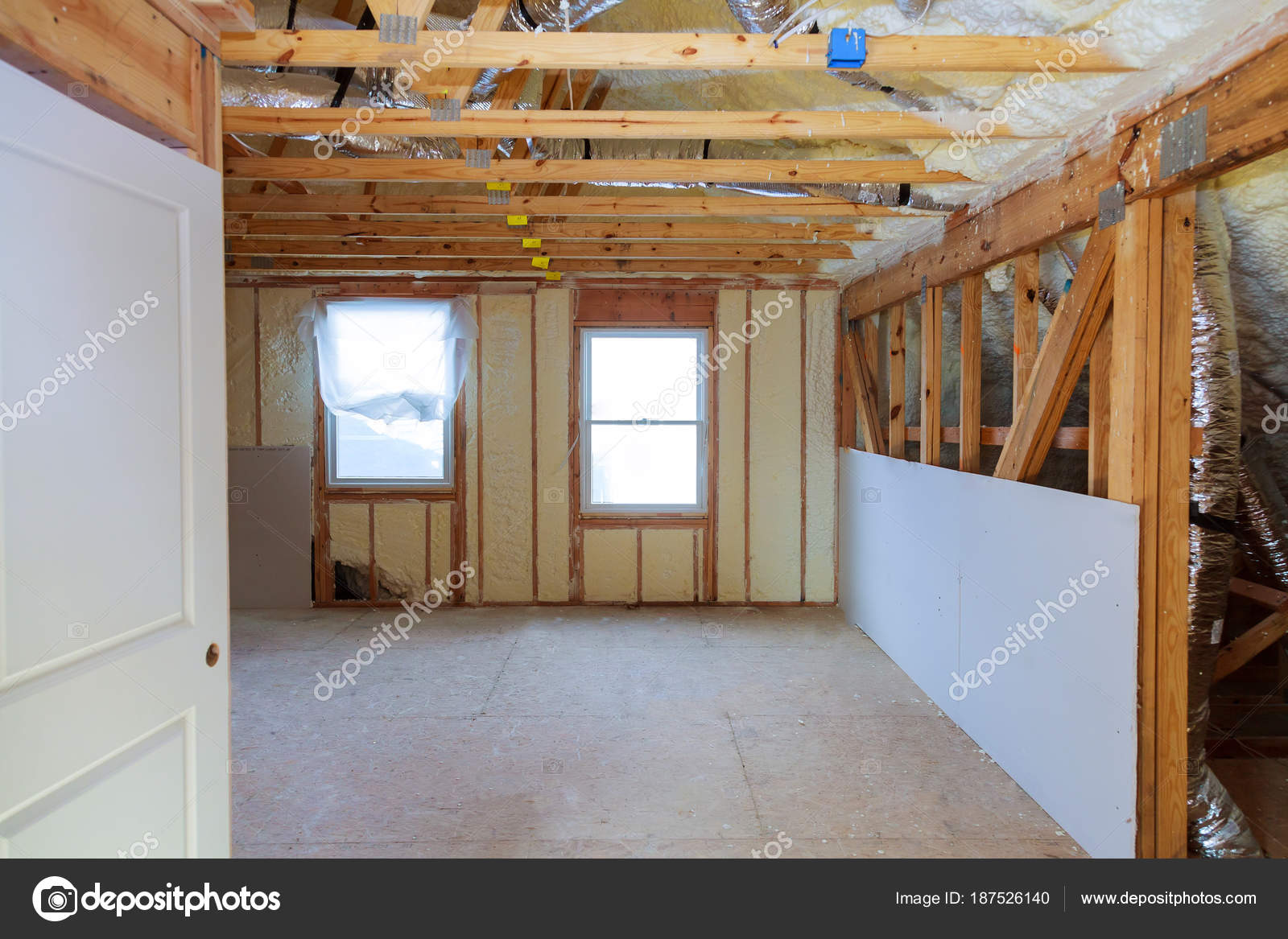 Thermal and hidro insulation wall insulation construction
