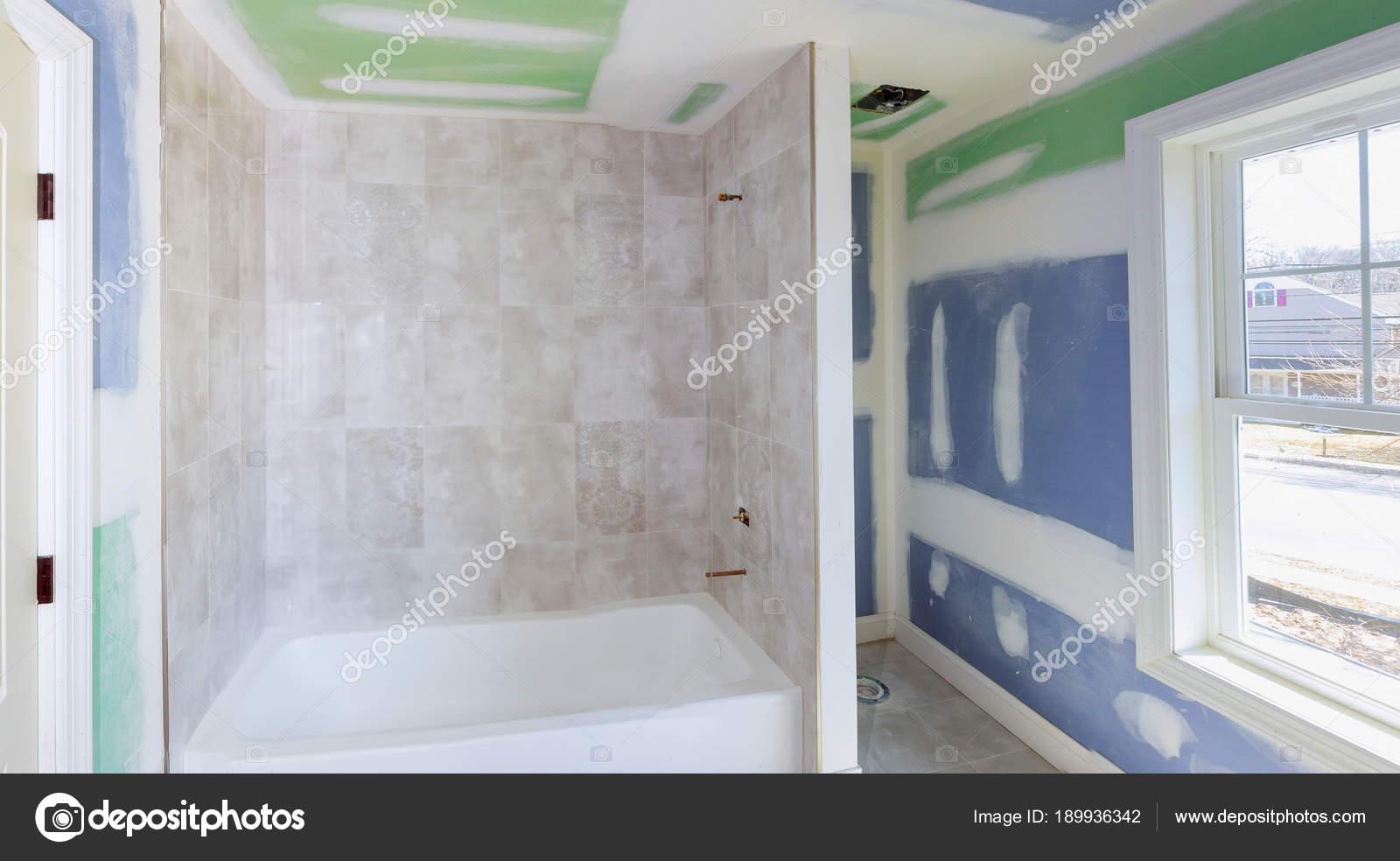 łazienka Przebudować Postępuje Jak Płyty Gipsowo Kartonowe