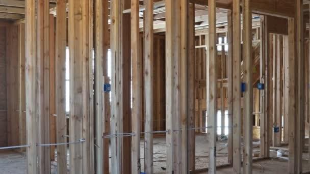Faház építése ház keretezés belső lakóház