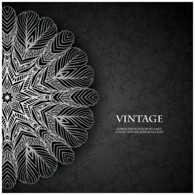 Elegant Indian ornamentation background.Cover soft pastel colors.