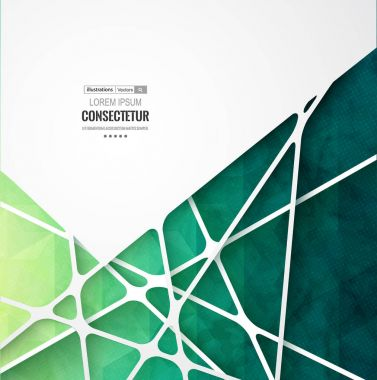 Abstract geometric background with polygons. Info graphics composition with geometric shapes.