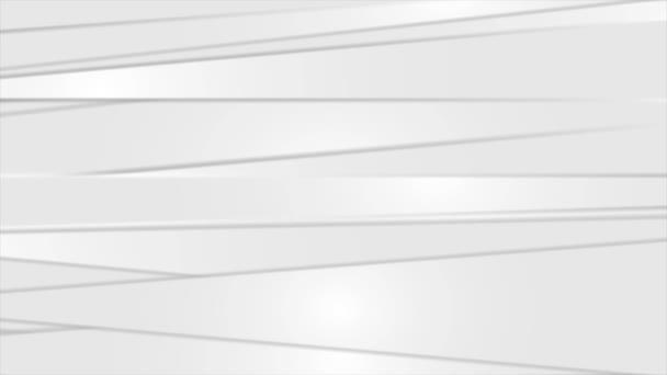 světle šedé abstraktní pruhy pohyb design video animace ultra hd