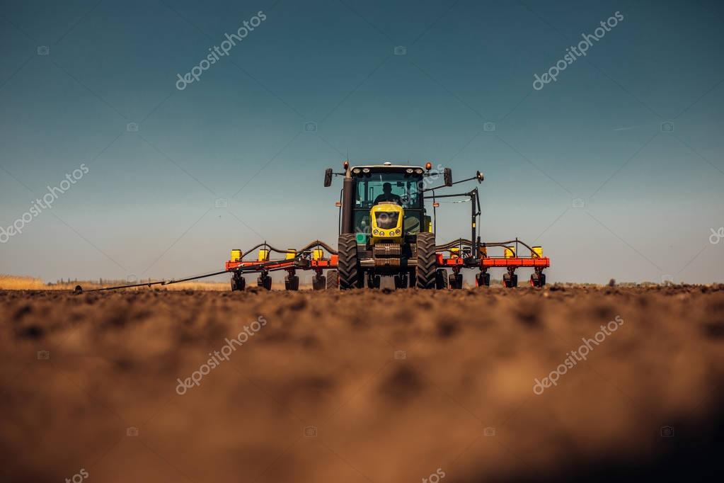 Preparing farm land for next year
