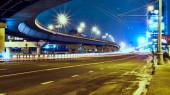 Hosszú deriers a Chelkov autópályán