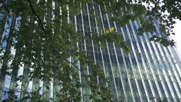 Modern building exterior wall