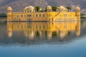 Fotografia Palazzo dellacqua Jal Mahal Jaipur Rajasthan India