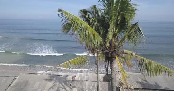 Aerial view of Balangan beach, Bali, Indonesia