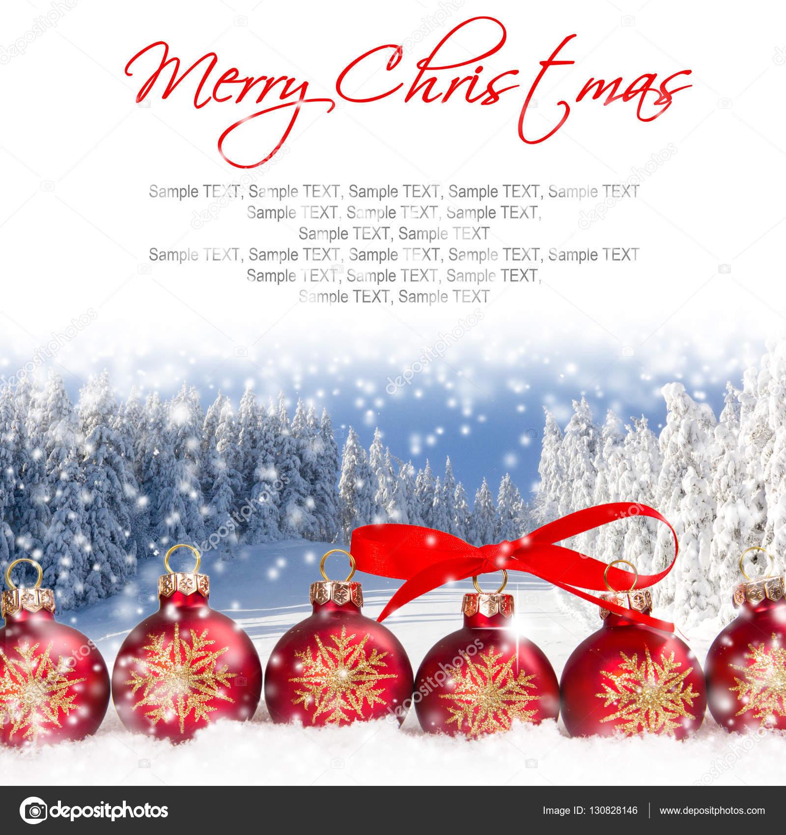 weihnachten kugeln hintergrund — Stockfoto © lindavostrovska #130828146