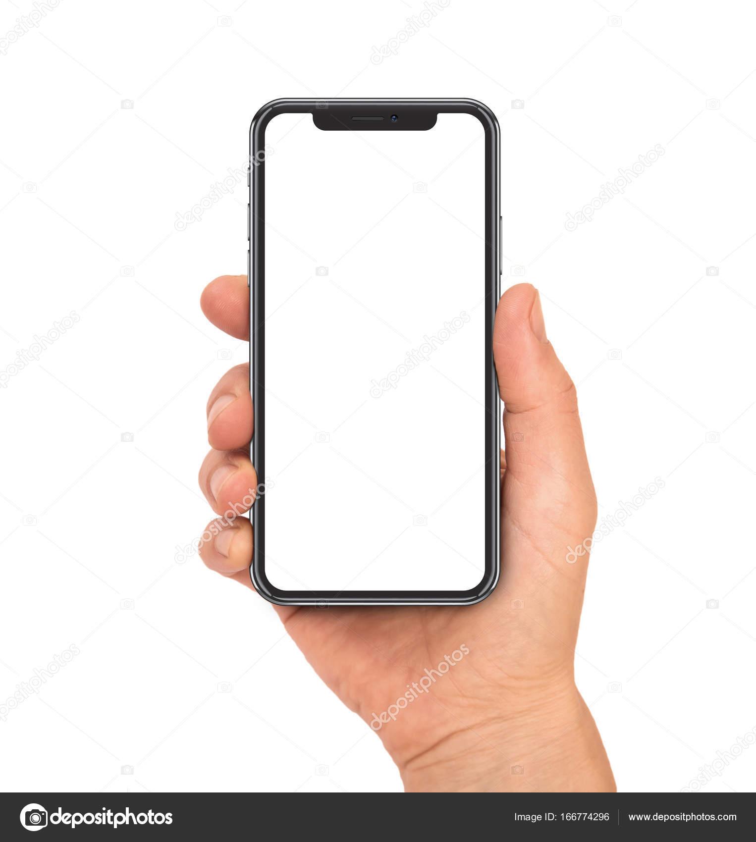 Smartphone hand