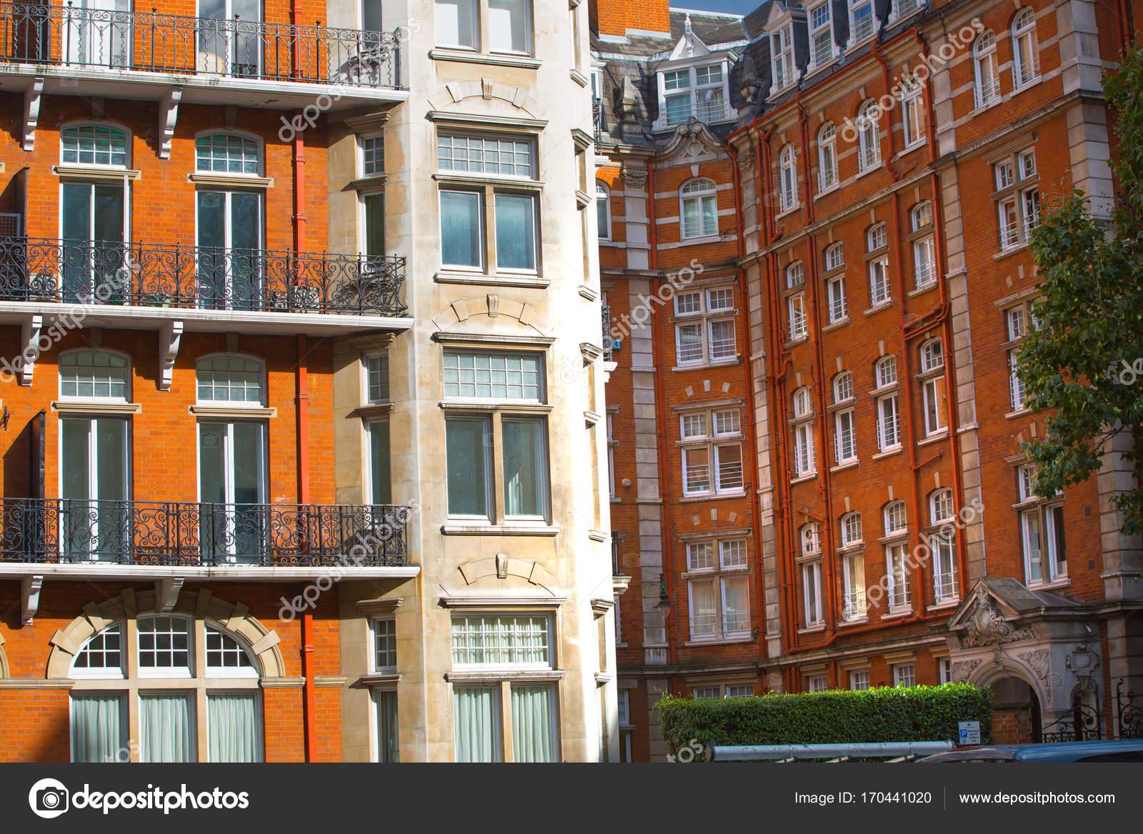 Luxury apartment buildings in Kensington. London, UK – Stock ...