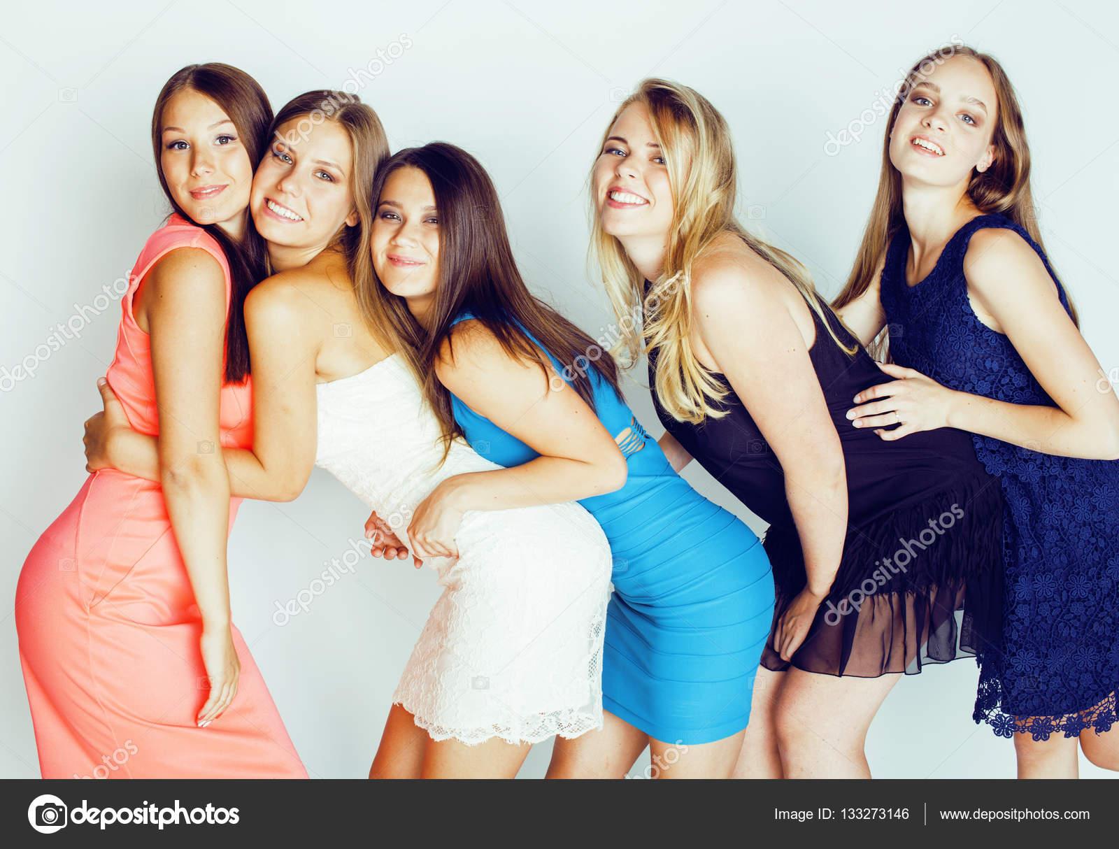 Фото много девушек вместе, групповое порно с бри олсон