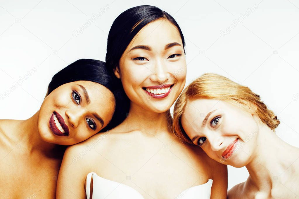 Three different nations women