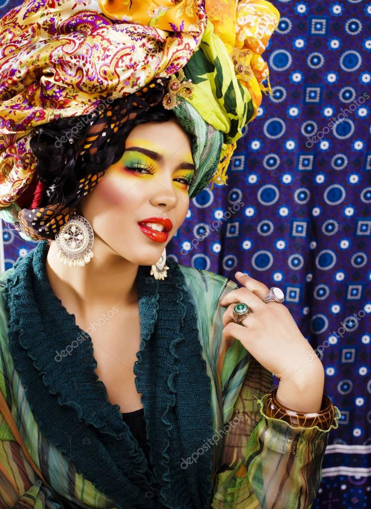 Beauty bright woman