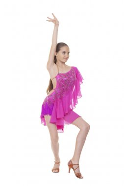 young girl dancer