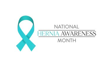 Vector illustration on the theme of National Hernia awareness month Observed each year during April.