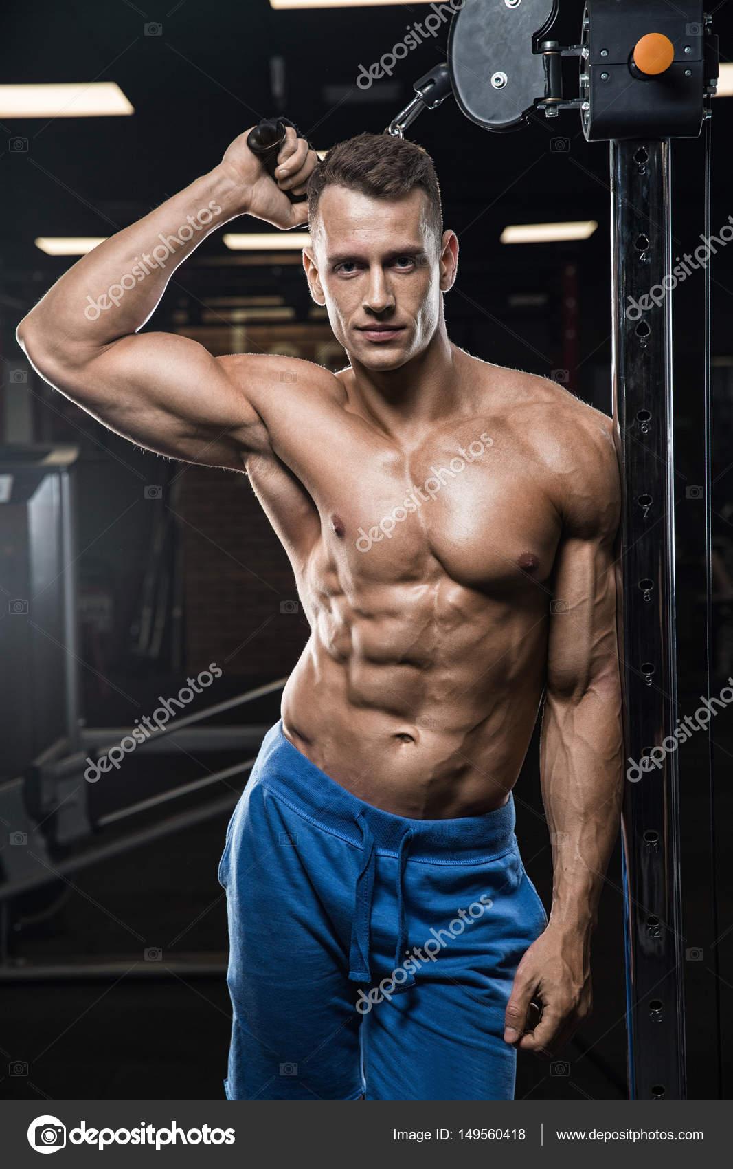 Straight men porno