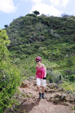 Trekking near Las Tricia, Garafa, La Palma, Canary Islands, Spain
