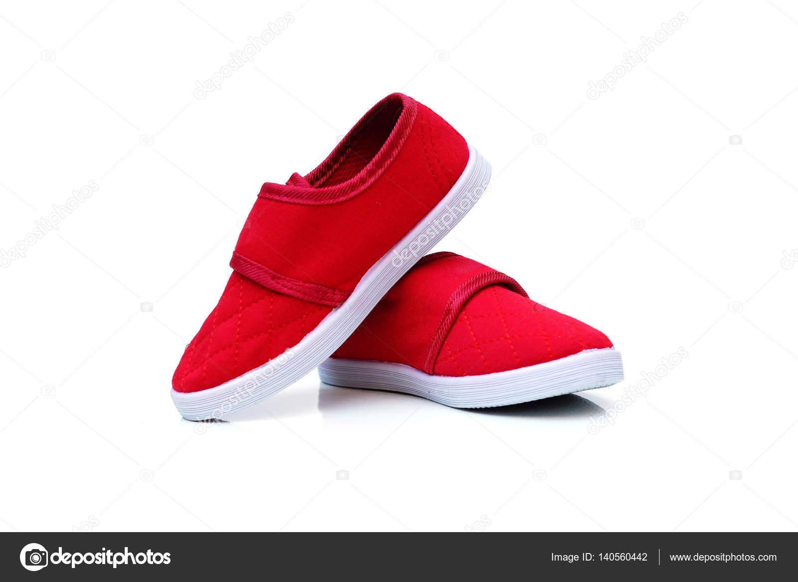 520b56cad13 Κόκκινο παντοφλέ παπούτσια — Φωτογραφία Αρχείου © weerapat #140560442