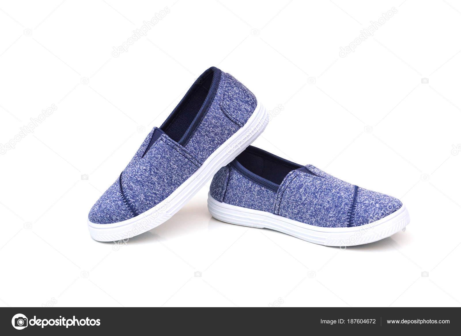 2a9a021e4c3 Ζαν Τζιν Παντοφλέ Παπούτσια Που Απομονώνονται Λευκό Φόντο ...