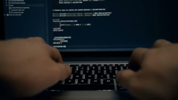 kódování programu programování výpočetní kodér práce psát software hacker rozvíjet koncepce člověka - obrázek stock