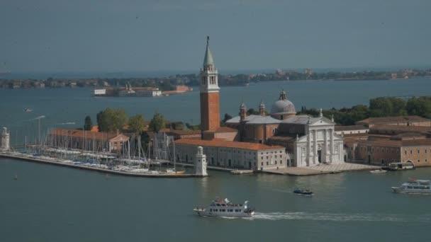 vista della Basilica di San Giorgio Maggiore isola da San Marco Piazza Chiesa di San Giorgio Maggiore, Venezia, Italia