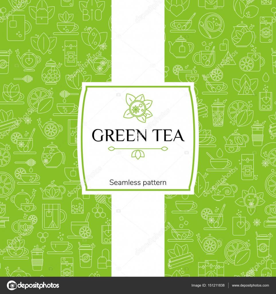 Yeşil çay, bal ve zeytinyağı