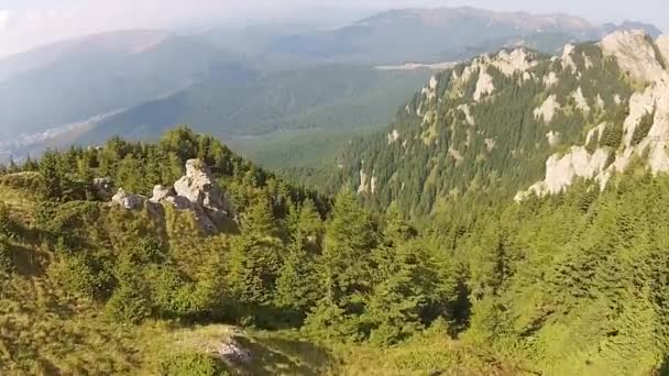 Letecký Přelet nad údolí