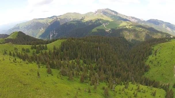 Malebná krajina v horách Ciucas, Rumunsko