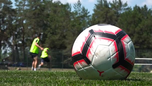Trénink fotbalistů, fotbal