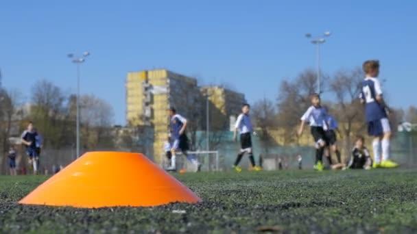 Children  playing football, Soccer match