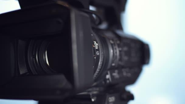 Zobrazení a zvětšení videokamery, objektiv videokamery, 4k